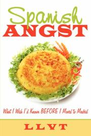 Cover of: Spanish Angst | LLVT