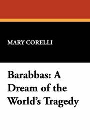 Cover of: Barabbas | Mary Corelli