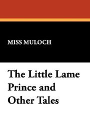 Cover of: The Little Lame Prince and Other Tales by Dinah Maria Mulock Craik