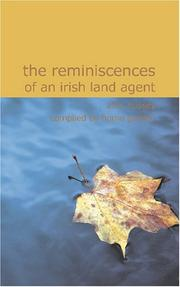 Cover of: The Reminiscences of an Irish Land Agent | S.M. Hussey