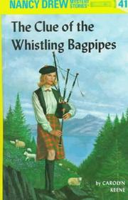 Cover of: The Clue of the Whistling Bagpipes | Carolyn Keene