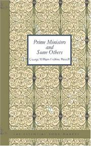 Cover of: Prime Ministers and Some Others | George William Erskine, Russell