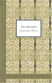 Cover of: Dan Merrithew | Lawrence, Perry