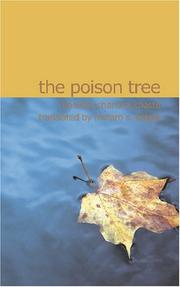 Cover of: The Poison Tree | Bankim Chandra Chatte