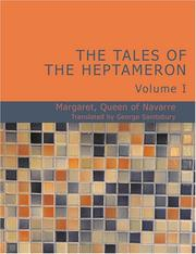 Cover of: The Tales of the Heptameron Vol. I | Margaret Queen of Navarre