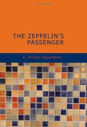 Cover of: The Zeppelin's Passenger by E. Phillips Oppenheim