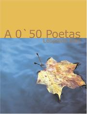 Cover of: A '50 poeta | Leopoldo Alas