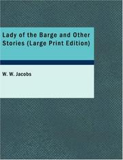Cover of: The Lady of the Barge and Other Stories by W. W. Jacobs