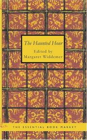 Cover of: The Haunted Hour by Margaret Widdemer