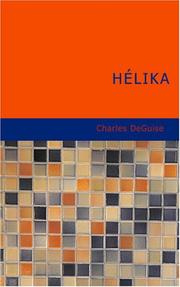 Cover of: Hélika | Charles DeGuise