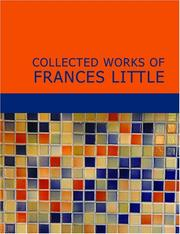 Cover of: Collected Works of Frances Little | Frances Little