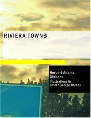 Cover of: Riviera Towns | Gibbons, Herbert Adams
