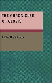 Cover of: The Chronicles of Clovis | Hector Hugh Munro