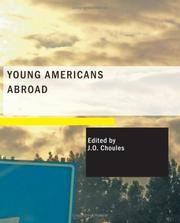 Cover of: Young Americans Abroad (Large Print Edition): Vacation in Europe | J. O. Choules