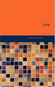 Cover of: Lola | Enrique Gaspar