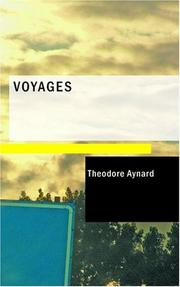 Cover of: Voyages | Theodore Aynard