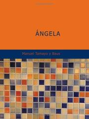 Cover of: Angela | Manuel Tamayo y Baus