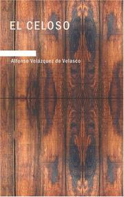 Cover of: El Celoso | Alfonso Uz de Velasco