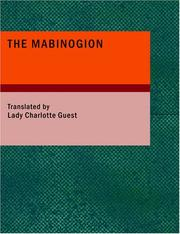 Cover of: The Mabinogion | Nathaniel Anonymous