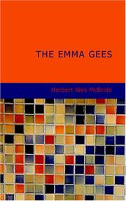 Cover of: The Emma Gees | Herbert Wes McBride