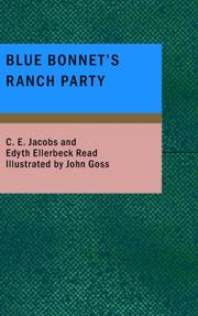 Cover of: Blue Bonnet's Ranch Party | C. E. Jacobs