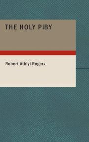 Cover of: The Holy Piby | Robert Athlyi Rogers