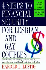 Cover of: 4 steps to financial security for lesbian and gay couples | Harold L. Lustig