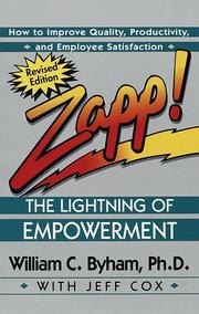 Cover of: Zapp! The Lightning of Empowerment | William C. Byham, Jeff Cox