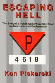 Cover of: Escaping Hell | Kon Piekarski