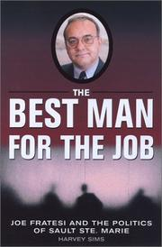 Cover of: The Best Man for the Job | Harvey Sims