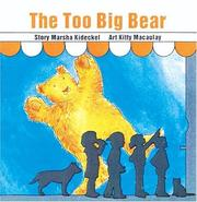 Cover of: The Too Big Bear (Annikins) | Marsha Kideckel