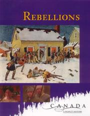 Cover of: Rebellions (Canada: A People_s History) | Don Quinlan