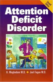 Cover of: Attention Deficit Disorder | H. Moghadam