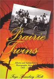 Cover of: Prairie Twins | Faye Reinberg Holt