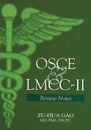 Cover of: OSCE & LMCC-II | Zu-hua Gao