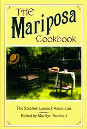 Cover of: Mariposa Cookbook | Marilynn Rumball