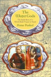 Cover of: The Water Gods by Anna Paskal