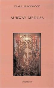 Cover of: Subway Medusa (First Poets) by Clara Blackwood