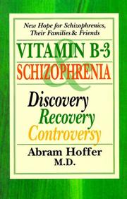 Cover of: Vitamin B-3 and Schizophrenia | A. Hoffer