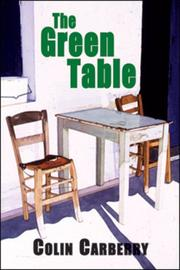 Cover of: The Green Table | Colin Carberry