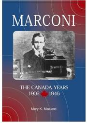 Cover of: Marconi by Dr Mary K Macleod