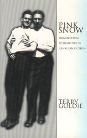 Cover of: Pink Snow by Terry Goldie
