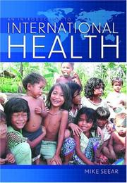 Cover of: An Introduction to International Health | Michael Seear