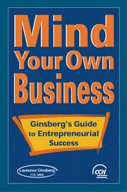 Cover of: Mind Your Own Business | Laurence Ginsberg
