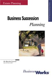 Cover of: Business Succession Planning | Malcolm Scarratt