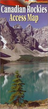 Cover of: Canadian Rockies Access Map | Scott Manktelow