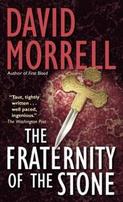 Cover of: Fraternity of Stone | David Morrell