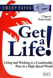 Cover of: Get a Life (Smart Tapes) | Jeff Davidson