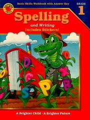 Cover of: Spelling and Writing | American Education Publishing
