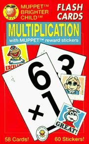 Cover of: Multiplication/Flash Cards With Muppet Reward Stickers | American Education Publishing